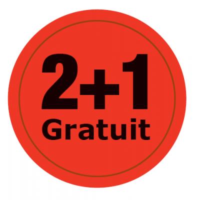 2+1 GRATUIT