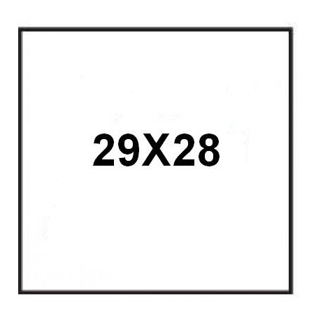 RECTANGLE 80X60 M76