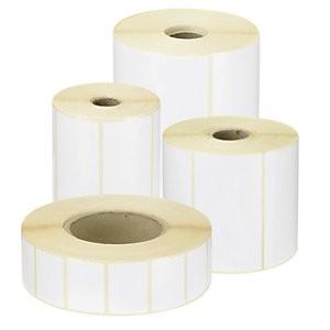 Etiquettes Velin Blanc